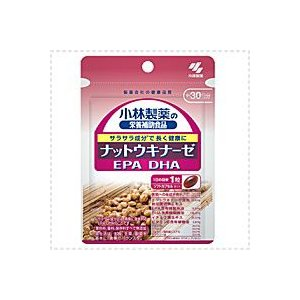 小林製薬の栄養補助食品 ナットウキナーゼ DHA EPA 30粒(約30日分)|denergy