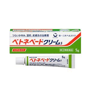 ベトネベートクリームS 製品の特徴  ●ベタメタゾン吉草酸エステル(ステロイド成分)が,しっしん,か...