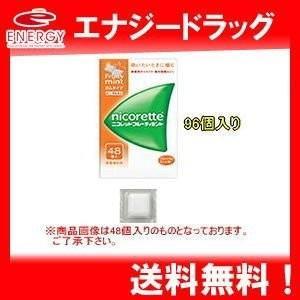 【第(2)類医薬品】ニコレット フルーティミント 96個  ※セルフメディケーション税制対象商品