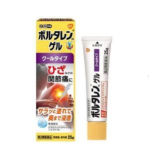 【第2類医薬品】ボルタレンEX ゲル25g 【ノバルティスファーマ】塗布剤【fs2gm】