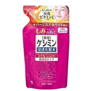 【小林製薬】ケシミン 浸透化粧水 とてもしっとり 詰替用 140ml