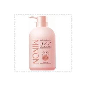 【ミノン Minon】 全身シャンプー <さらっとタイプ・450ml本体>
