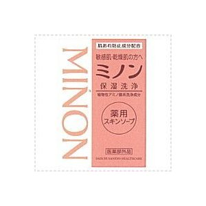 【ミノン・Minon】 薬用スキンソープ 保湿洗浄 80g|denergy