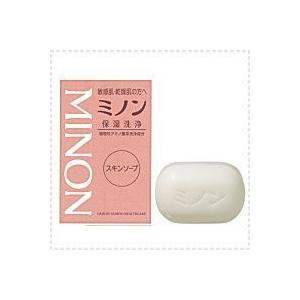 【ミノン・Minon】スキンソープ 保湿洗浄 80g|denergy