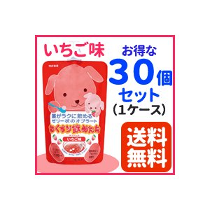 【龍角散】おくすり飲めたね チアパック いちご味 200g×30個セット【1ケース】【送料無料】