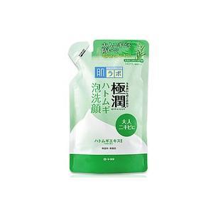 【ロート製薬】肌研(ハダラボ) 極潤 ハトムギ泡洗顔    つめかえ用 140mL denergy
