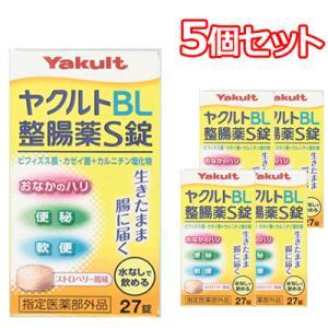 使用期限:使用期限まで1年以上あるものをお送りいたします。  「ヤクルトBL整腸薬S錠 27錠」は、...