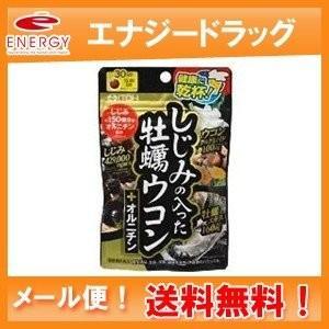 【井藤漢方】しじみの入った牡蠣ウコン+オルニチン 120粒|denergy