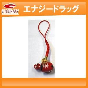 幸運を運ぶ 会津の赤べこストラップ 【赤色】