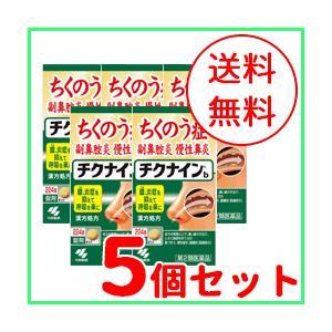 【第2類医薬品】【5個セット】【小林製薬】チクナイン ちくないん b 224錠