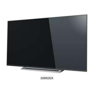 東芝 / 4K液晶テレビレグザREGZA 設置・リサイクルお申し込みは追加配送料金  / 50M520X