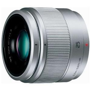 Panasonic 単焦点レンズ マイクロフォーサーズ用 LUMIX G シルバー H-H025-S パナソニック ルミックス|denkichiweb