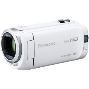 Panasonic HDビデオカメラ 90倍ズーム 64GB ホワイト HC-W585M-W パナソニック|denkichiweb
