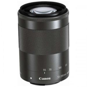 CANON 望遠ズームレンズ EF-M55-200mm F4.5-6.3 IS STM ミラーレス専用 EF-M55-200ISSTM キヤノン|denkichiweb
