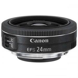 CANON 単焦点広角レンズ EF-S24mm F2.8 STM APS-C対応 EF-S2428STM キヤノン|denkichiweb