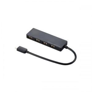エレコム ELECOM USB Type-C接続4ポートUSB2.0ハブ U2HC-A429BBK
