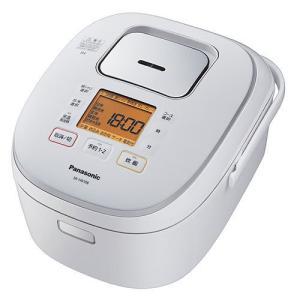 Panasonic 炊飯器 IH炊飯ジャー 5.5合 ホワイト SR-HB108-W パナソニック|denkichiweb