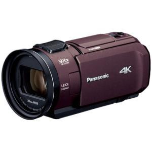 Panasonic 4Kビデオカメラ あとから補正 64GB ブラウン HC-VZX1M-T パナソニック|denkichiweb