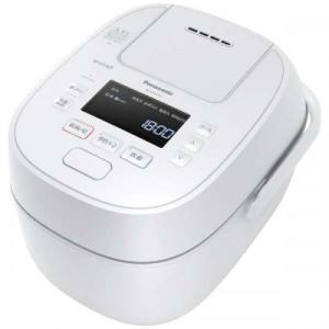 パナソニック Panasonic 可変圧力IHジャー炊飯器 Wおどり炊き 5.5合炊き SR-MPW100-W ホワイト デンキチWEB PayPayモール店