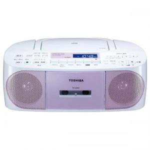 東芝 TOSHIBA  ワイドFM対応 CDラジカセ TYCDS7-P