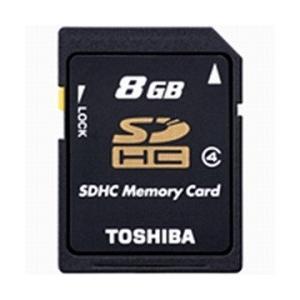 TOSHIBA Class4対応SDHCメモリカード 8GB  SD-L008G4 東芝|denkichiweb