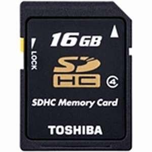 TOSHIBA Class4対応SDHCメモリカード 16GB  SD-L016G4 東芝|denkichiweb