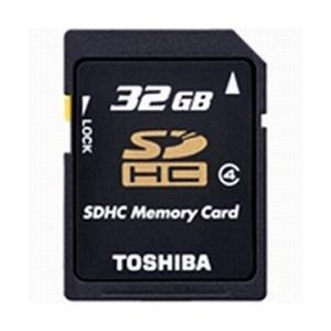 TOSHIBA Class4対応SDHCメモリカード 32GB SD-L032G4 東芝|denkichiweb