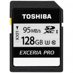 TOSHIBA UHS Speed Class3 UHS-I 対応SDXCメモリカード 128GB EXCERIA PRO  SD-KU128G 東芝 エクセリア プロ|denkichiweb