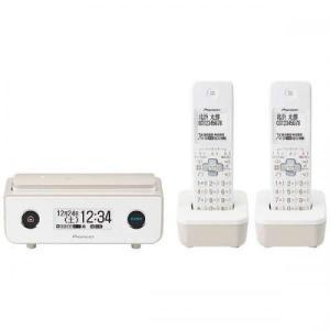 Pioneer コードレス電話機 子機2台 マロン TF-FD35T(TY) パイオニア denkichiweb