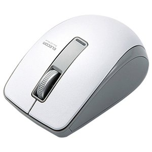 エレコム ELECOM BlueLEDマウス 無線 3ボタン Bluetooth4.0対応 Mサイズ...