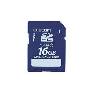 ELECOM Class4 SDHCメモリカード 16GB  MFFSD016GC4R エレコム|denkichiweb