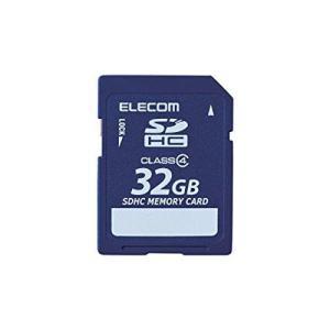 ELECOM Class4 SDHCメモリカード 32GB MFFSD032GC4R  エレコム|denkichiweb