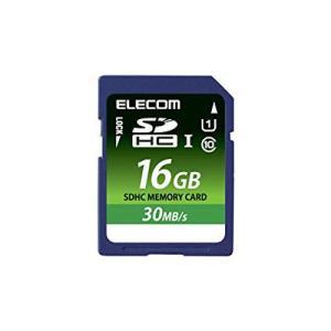 ELECOM Class10 UHS-I 対応SDHCメモリカード 16GB  MFFS016GU11LRA エレコム|denkichiweb