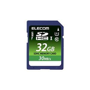 ELECOM Class10 UHS-I 対応SDHCメモリカード 32GB  MFFS032GU11LRA エレコム|denkichiweb