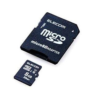 ELECOM Class10 UHS-I対応 SDHCメモリカード 8GB  MFMS008GU11LRA エレコム denkichiweb