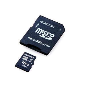 ELECOM Class10 UHS-I対応 SDHCメモリカード 16GB  MFMS016GU11LRA エレコム|denkichiweb