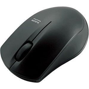 ELECOMワイヤレスマウス Bluetooth IR LEDセンサー搭載 3ボタン Sサイズ ブラック M-BT12BRBK エレコム|denkichiweb