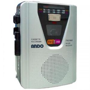 ANDO ハンディラジカセ ラジオ機能付 RC13-352Z アンドーインターナショナル