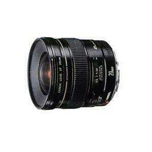 CANON 単焦点レンズ EF20mm F2.8 USM フルサイズ対応 EF2028U キヤノン|denkichiweb