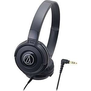 audio-technica 密閉型オンイヤーヘッド本 ポータブル ブラック ATH-S100BK ...