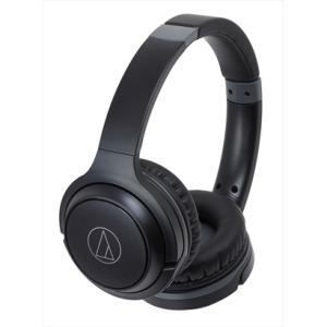 オーディオテクニカ audio-technica ワイヤレスヘッドホン Bluetooth対応 ブラック ATH-S200BT-BK|デンキチWEB PayPayモール店