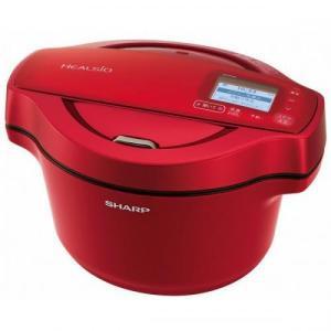 シャープ SHARP 水なし自動調理鍋 HEALSIO(ヘルシオ) ホットクック 無線LAN対応 1...