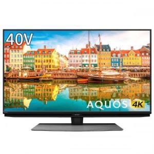 シャープ SHARP 4Kチューナー内蔵液晶テレビ 40V型 4T-C40CL1 (宅配サイズ商品 / 設置・リサイクル希望の場合は別途料金および配達日・時間指定不可)|デンキチWEB PayPayモール店