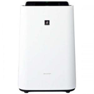 シャープ SHARP 加湿空気清浄機 プラズマクラスター7000 ホワイト系 KC-N50-W|デンキチWEB PayPayモール店