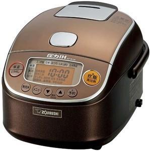 ZOUJIRUSHI 圧力IH炊飯ジャー 3合 極め炊き ブラウン NP-RL05-TA 象印 炊飯器
