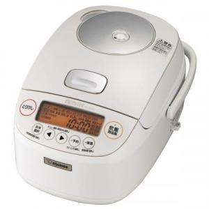 ZOUJIRUSHI  圧力IH炊飯ジャー 5.5合 極め炊き ホワイト NP-BH10-WA 象印 炊飯器|denkichiweb