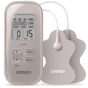 OMRON 低周波治療器 シルバー HV-F021-SL オムロン