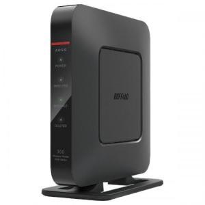 BUFFALO Wi-Fi 無線LANルーター 親機 エアステーション Qrsetup ハイパワー Giga Dr.Wi-Fi 11n/g/b 300Mbps WSR-300HP バッファロー|denkichiweb