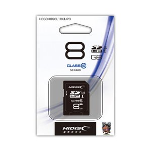 GALAXY  Class10 SDHCメモリカード 8GB  HDSDH8GCL10UIJP ギャラクシー|denkichiweb
