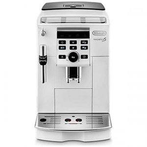 DeLonghi コンパクト全自動コーヒーマシン マグニフィカS ホワイト ECAM23120WN ...